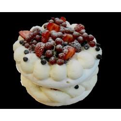 Tort bezowy z mascarpone