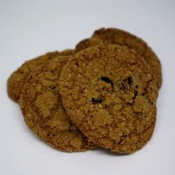 Cookies owsiane z żurawiną